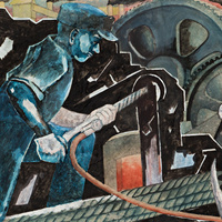 Exhibition: Celebrating Heroes: American Mural Studies of the 1930s and 1940s from the Steven and Susan Hirsch Collection
