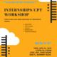 Summer Internships/CPT Workshop for F-1 International Students