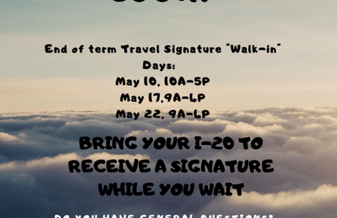 Travel Signature Walk-In Day