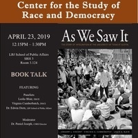 AS WE SAW IT - The Story of Integration at the University of Texas at Austin