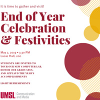 UMSL Communication and Media End of Year Celebration & Festivities