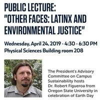 """Public Lecture:  """"Other Faces: Latinx and Environmental Justice"""""""
