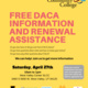 Free DACA Information and Renewal Assistance