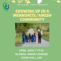 Growing up in a Mennonite / Amish Community | Global Union