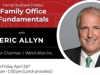 Family Business Fridays: Family Office Fundamentals