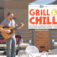 Grill & Chill with Anthony Cubbage   Dining Services