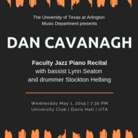 Dan Cavanagh Faculty Jazz Piano Recital