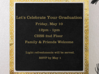 CHSS May Graduation Reception