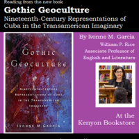 """""""Gothic Geoculture"""" Book Reading and Signing"""
