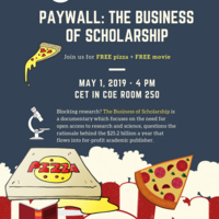 Documentary Screening of Paywall: The Business of Scholarship