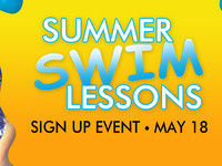 Summer Swim Lessons Sign Up Event
