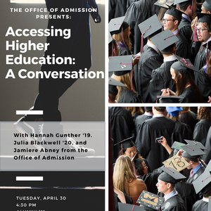 Accessing Higher Education: A Conversation