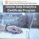Online Data Analytics Certificate Program Info Session