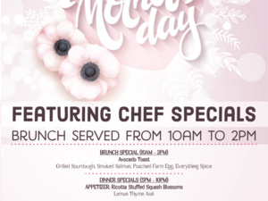 Mother's Day Specials at Food Plenty