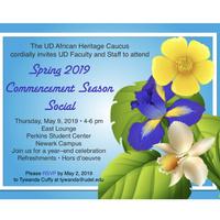 Spring 2019 Commencement Season Social