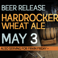 Hardrocker Wheat Ale Beer Release