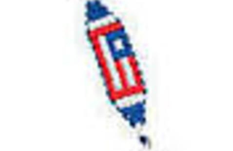 Take & Make Craft: Patriotic Key Chain