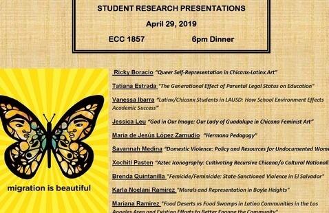 Chicana/o & Latina/o Research Presentations