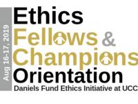 Daniels Fund Ethics Fellows & Champion Orientation