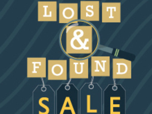 Lost & Found Sale