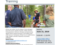Storm-Damaged Tree Cleanup Training