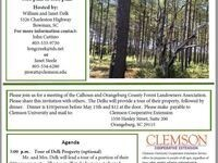 Calhoun & Orangeburg County Forest Landowners Assoc Tour