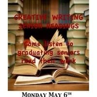 Creative Writing  Graduating Senior Readings