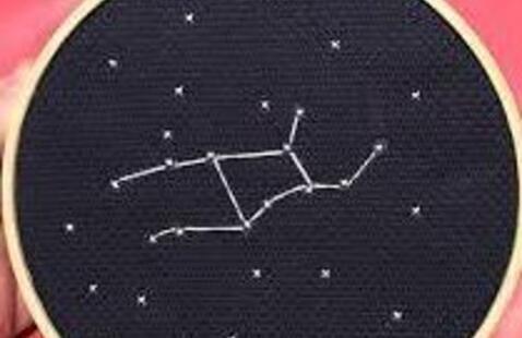 STEAM Tuesdays: Constellation Cross Stitch