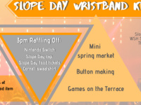 Slope Day Wristband Kickoff Event