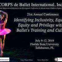 21st annual CORPS de Ballet International Conference