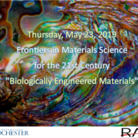 Frontiers in Materials Science for the 21st Century Symposium