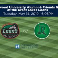 NU Alumni at the Great Lakes Loons