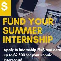 How To Fund Your Summer Internship