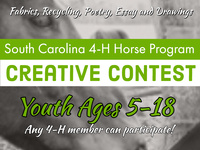 SC 4-H Horse Program Creative Contest Registration Open