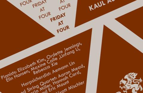 Friday @ 4 Recitals & Film Screenings