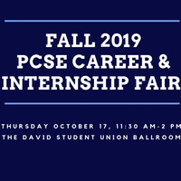 Fall 2019 PCSE Career & Internship Fair