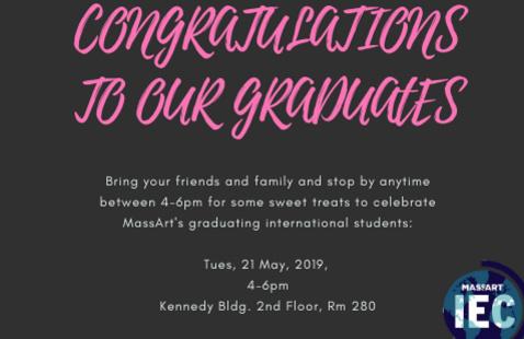 Graduating International Students Reception