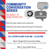 Kansas Volunteer Commission Community Conversation on National and Community Service