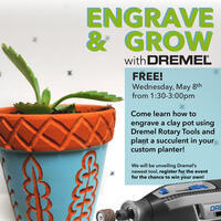 Engrave and Grow with Dremel