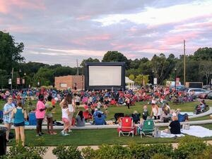 Movie Under the Stars on the Green
