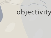 Objectivity: the solo performance project
