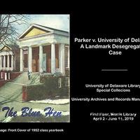 Exhibition: Parker v. University of Delaware