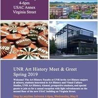 Art History Meet & Greet at USAC Annex