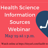 Health Science Information Sources Webinar