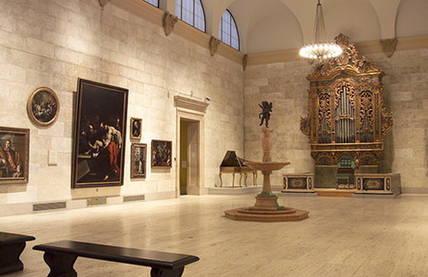 The Italian Baroque Organ in the Fountain Court